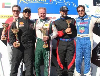 Radical Supersports podium race 1