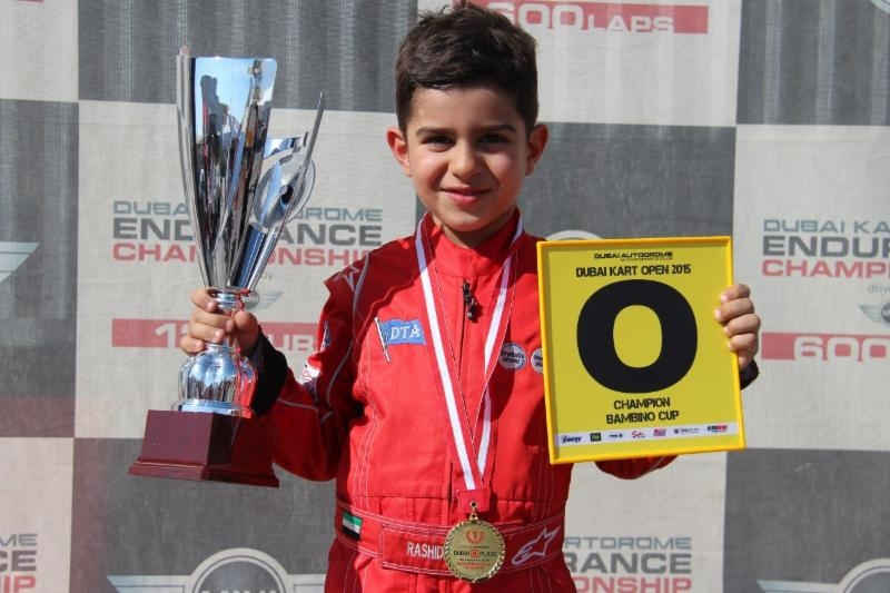Dubai: Rashid Al Dhaheri seals second 'O' Plate karting title