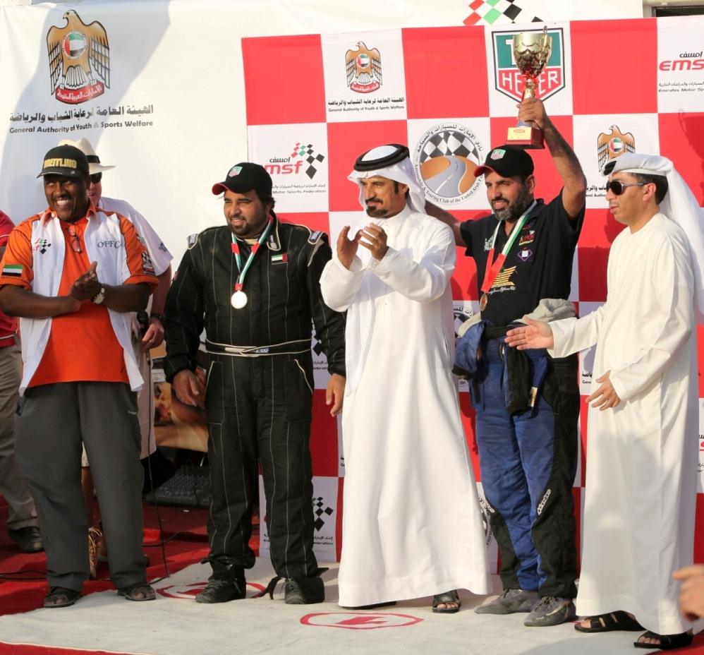 Dubai: Mabbs and Gaugain early leaders of UAE Desert Championship