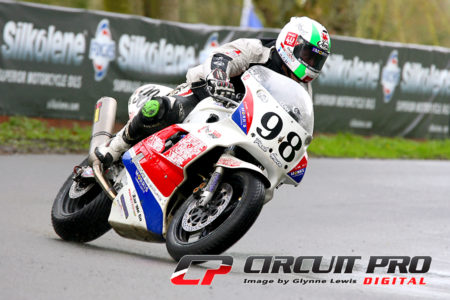 Paul on his classic FZR 750 Yamaha at the Spring Cup