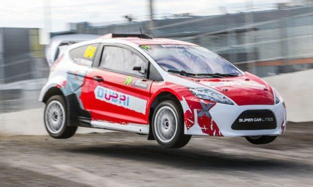 RallyCross: Dubai's Saeed Bin Towq bags runner up spot in RX Lites Canada