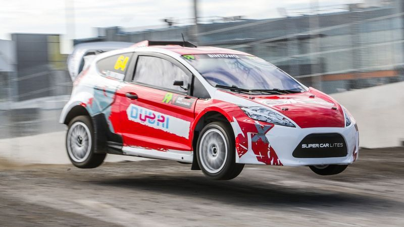 RallyCross: Dubai's Saeed Bin Towq bags runner up spot in RX Lites Canada