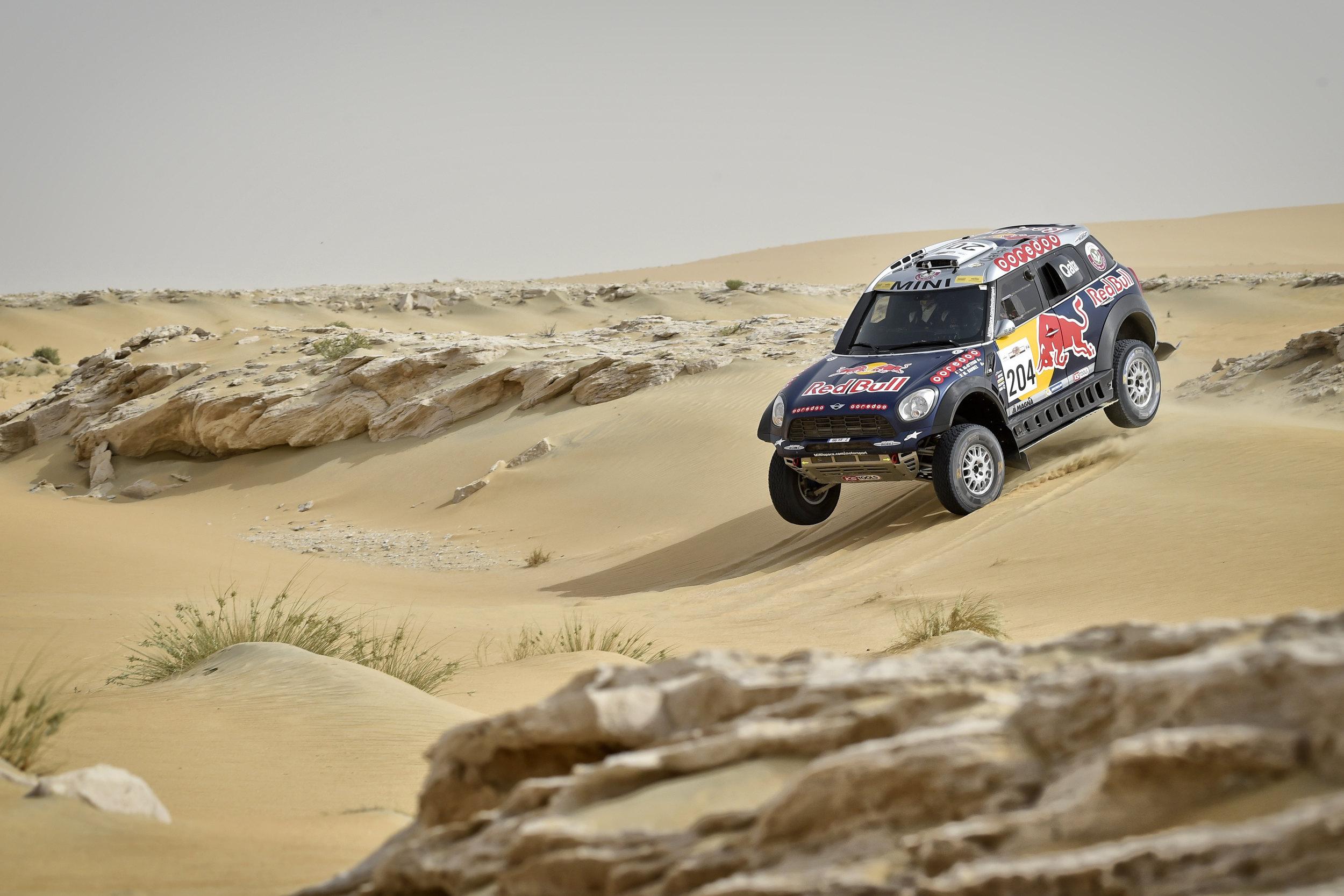 Rally: Al Attiyah, Coma and Sonik confirm third Sealine Rally victories