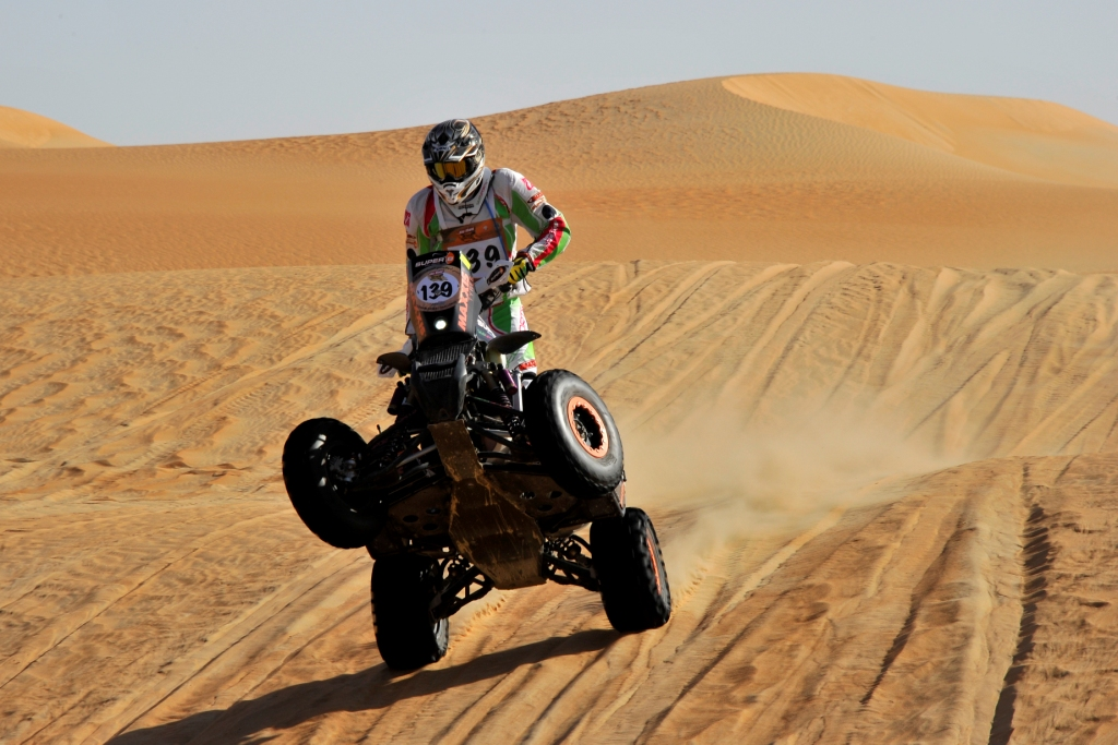 UAE: Quad star Sebastian Husseini ready for tough UAE Desert Championship