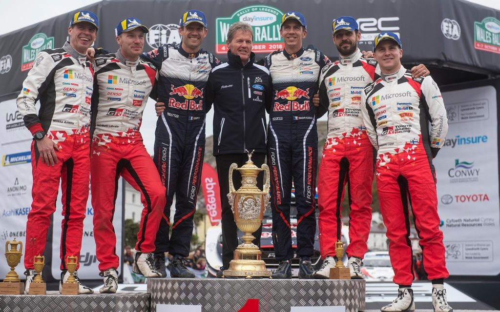 WRC: Rally Wales GB – Ogier storms to win after epic last day