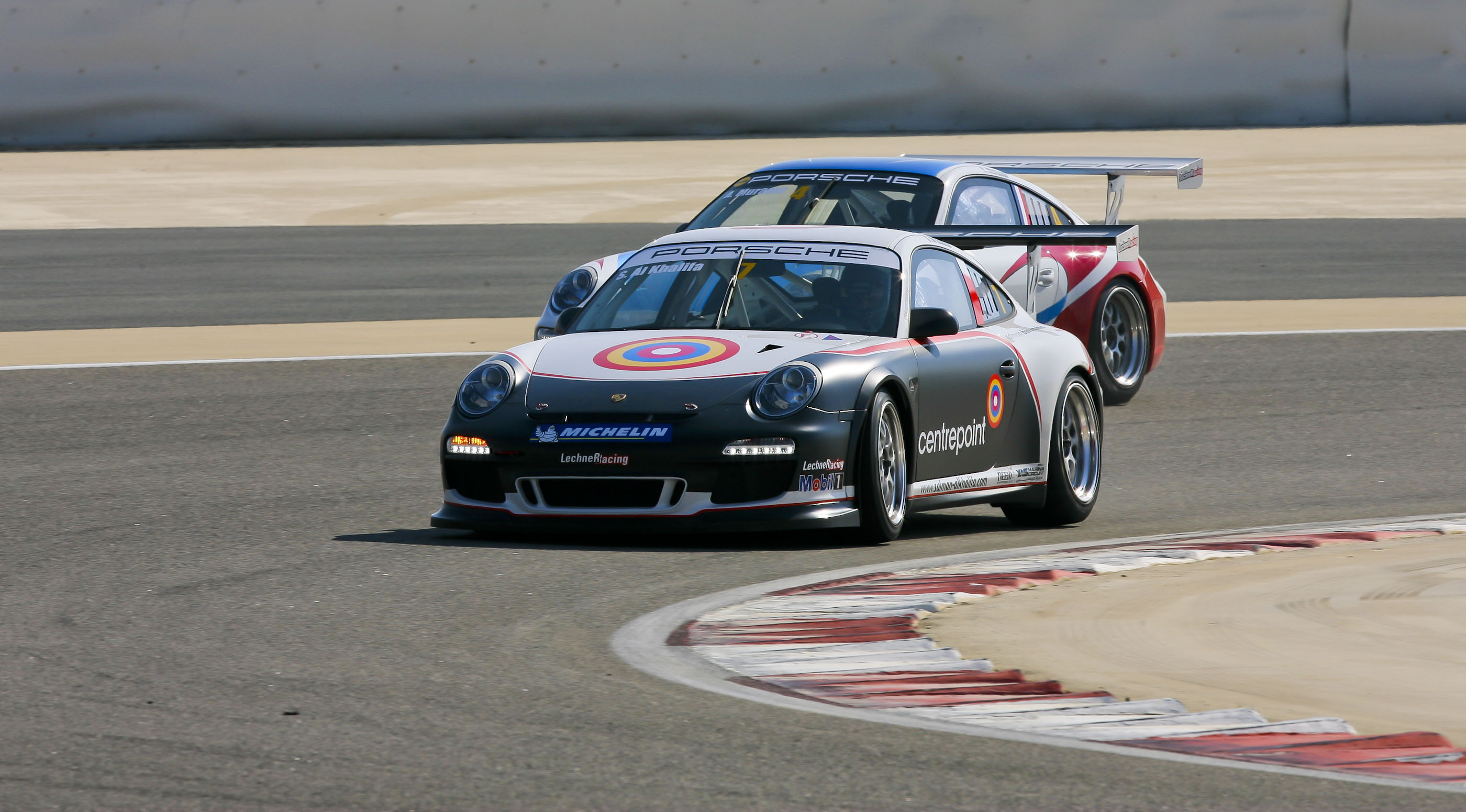 Porsche ME: Bahraini Sheikh Salman bin Rashid extends lead in the championship with a dramatic Porsche GT3 Cup victory in Saudi