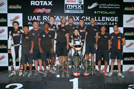 Best team award rounded off a great season for the Sodi Racing Team