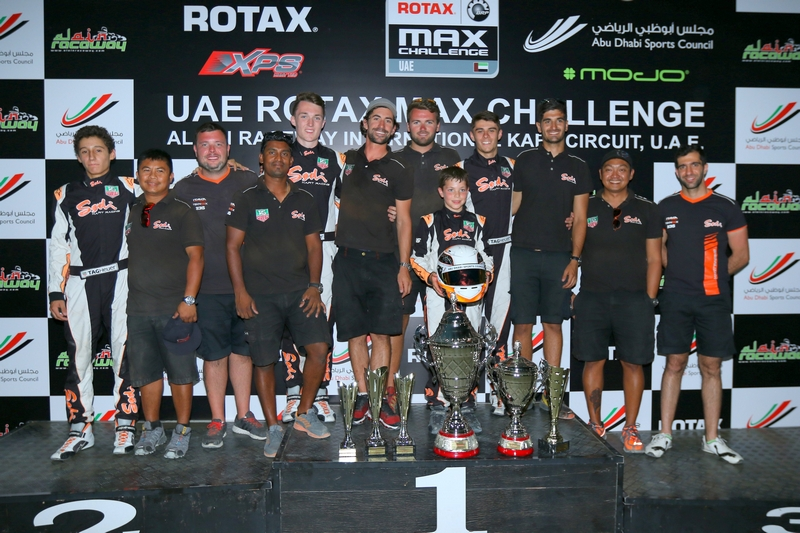 Dubai: Sodi Racing Team scoop the 'Best Team Award' at the end of a long hard season