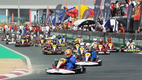 Start of 2013 Kartdrome 24 Hours race