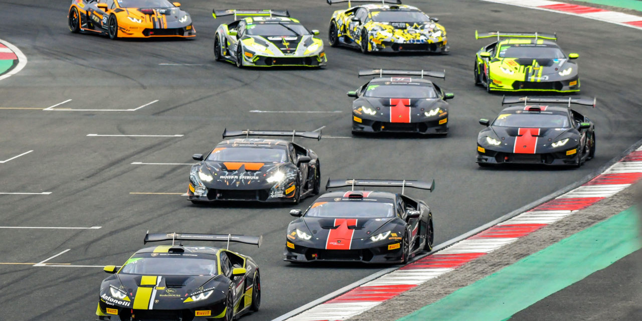 Dubai: Breukers and Jefferies lead Lamborghini Super Trofeo Middle East series after round two