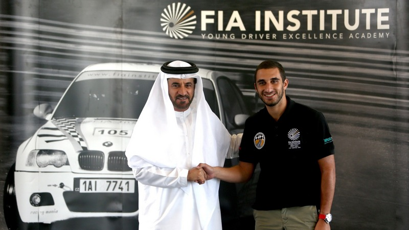 UAE: Panikos Polykarpou of Cyprus wins place in FIA Institute's 2015 Young Driver Excellence Academy