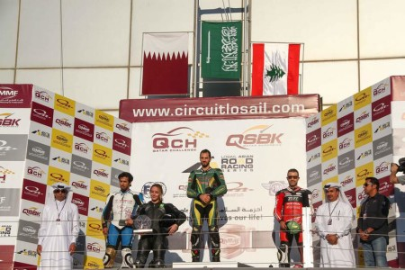 Supersport and LARRS podiumDecember 20, 20141