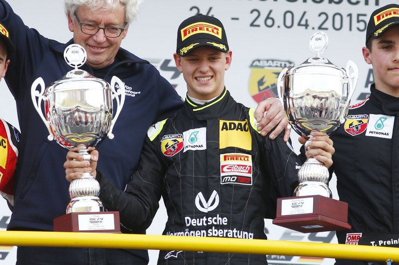 F4: Maiden victory for Mick Schumacher in ADAC Formula 4 on his formula racing debut