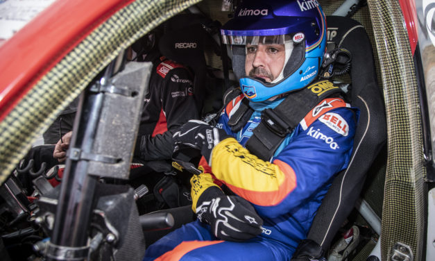 Dakar: Fernando Alonso completes tests in Toyota Gazoo Hilux in South Africa