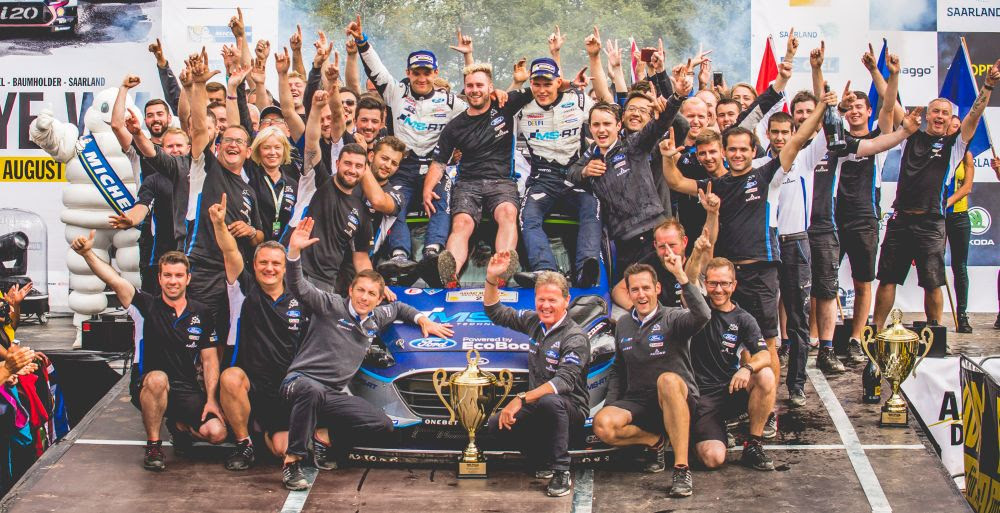 WRC: RALLYE DEUTSCHLAND sees Ford M-Sport dominate as Tanak takes the win