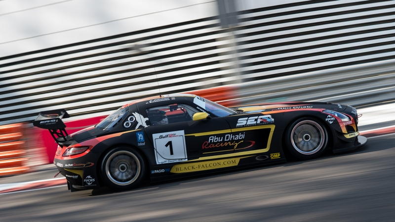 UAE: Abu Dhabi Black Falcon team fall short of victory at Gulf 12hr by 3 seconds