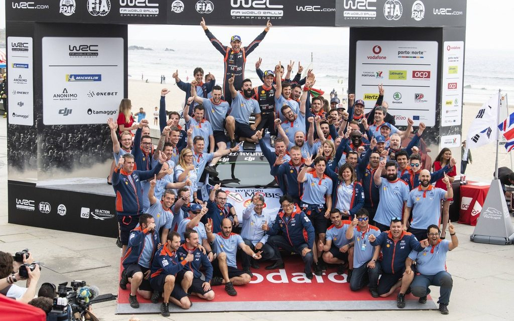WRC: Rally Portugal – Thierry Neuville on top in gravel classic