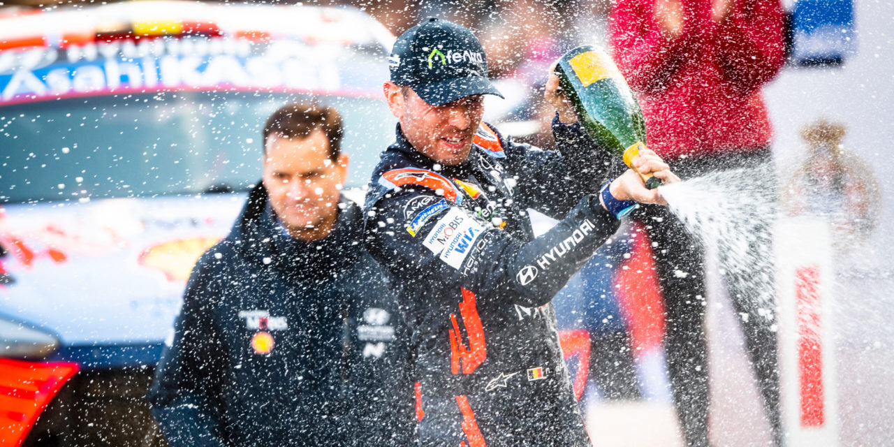 WRC: Monte-Carlo success for Thierry Neuville & Hyundai