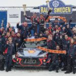 WRC: Rally Sweden sees Belgian Neuville take an ice-cool win