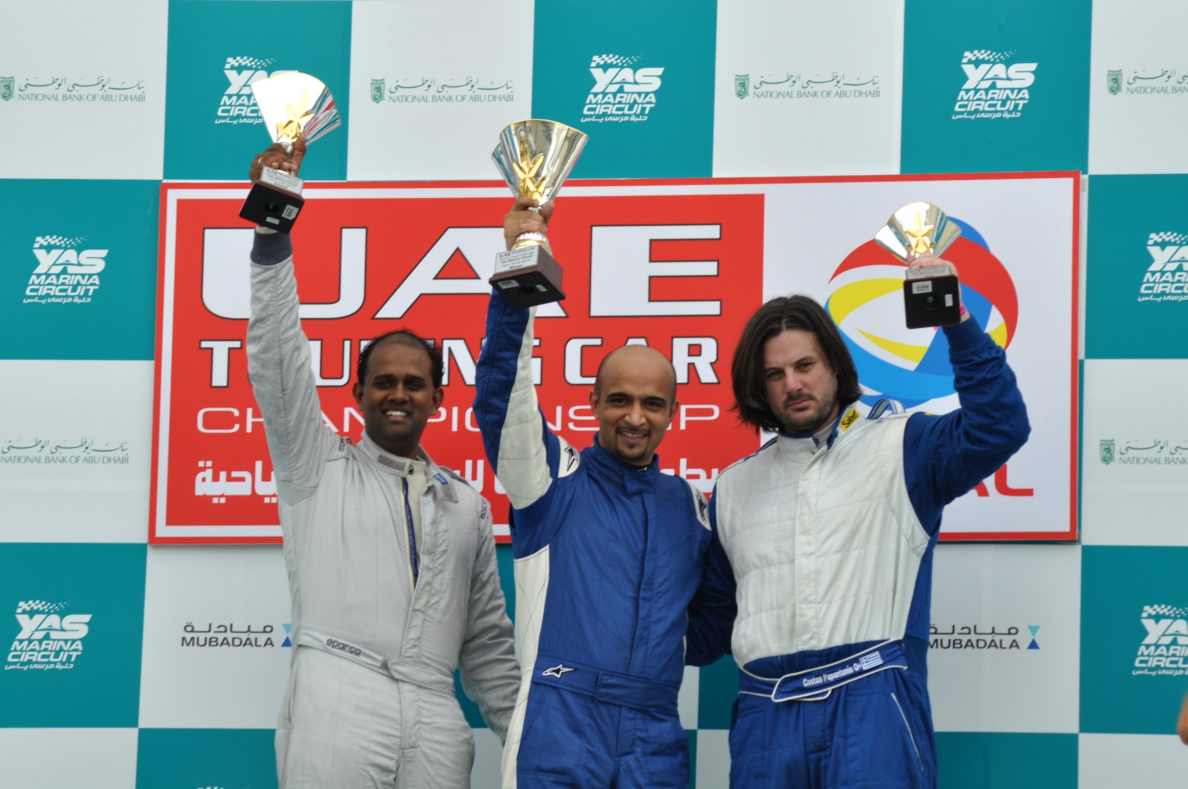 Total UAE Touring Cars: Khan and Annivas wrap up 2011/2012 title and Zuhour takes a step closer