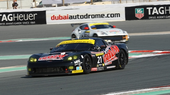 Dubai 24h: Detroit power on pole in Dubai as Nicky Pastorelli takes V8 Racing Corvette C6R to fastest qualifying time
