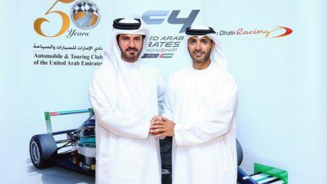 Mohammed ben Sulayem and Mr. Khaled Al Qubaisi