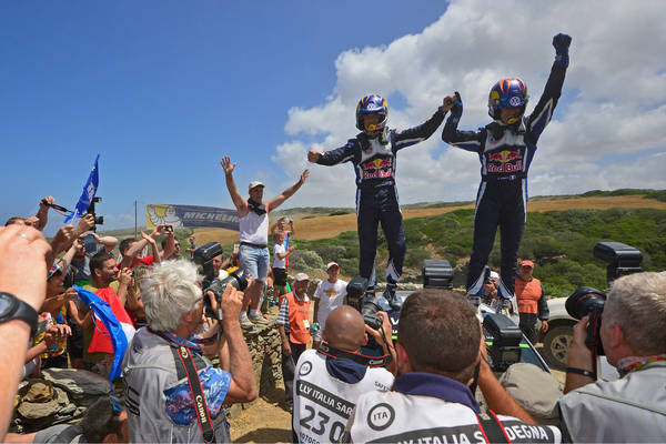 WRC: Rally Italy sees Volkswagen back on top of the podium