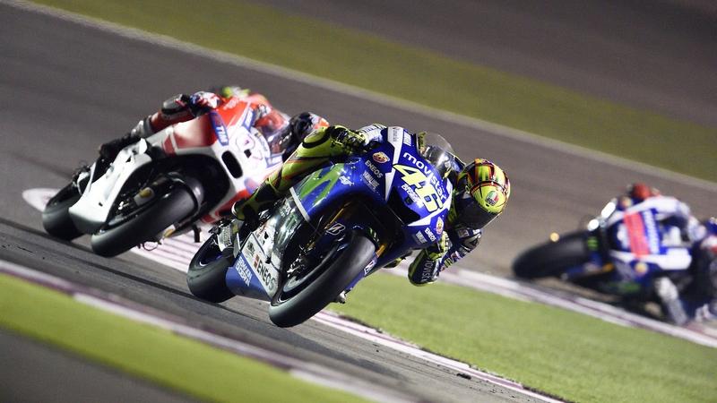 MotoGP: Rossi fights hard to take sensational win in Qatar