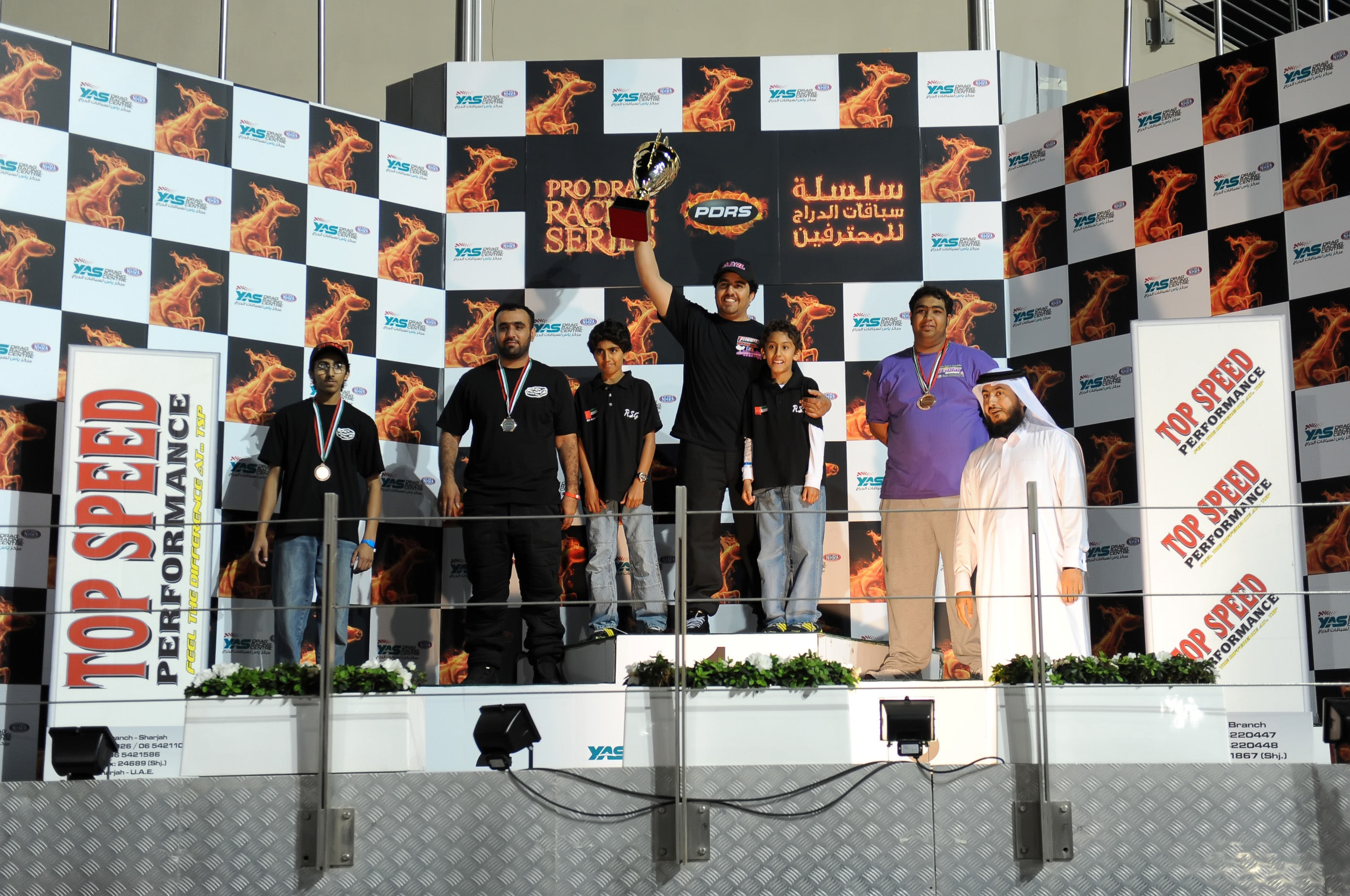 Drag Racing: Round One of the Pro series at Yas Marina brings big purse win for Al Kaabi in Pro Mod class