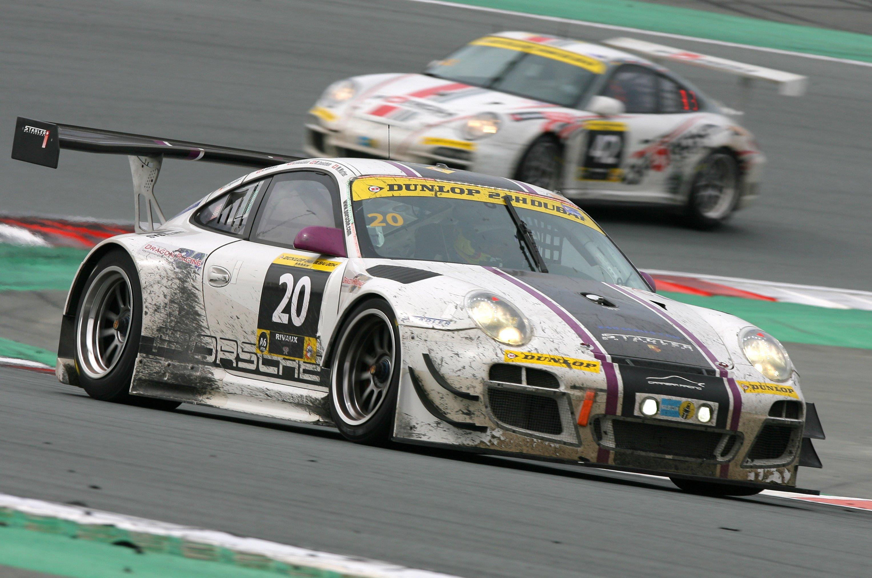 Dubai 24hr: Stadler Motorsport Porsche take outright victory in Dubai 24hr and Dragon Racing Ferrari win Pro-Am