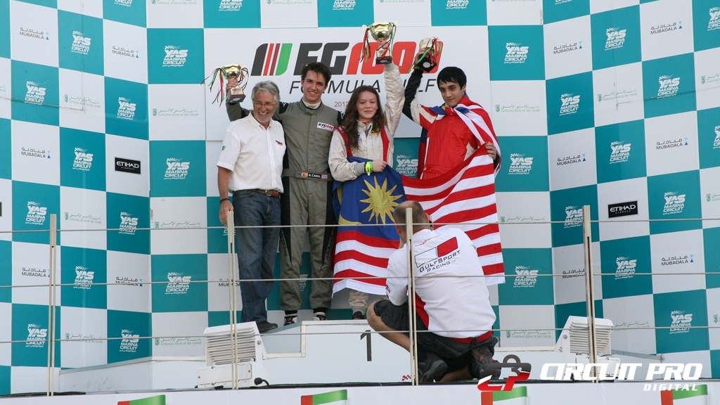UAE Formula Gulf 1000: Natasha Seatter takes blistering double win in Yas short track thriller
