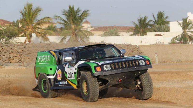 Rally: Defending champion Yazeed Al-Rajhi tops Jeddah entry list in Hummer Dbug