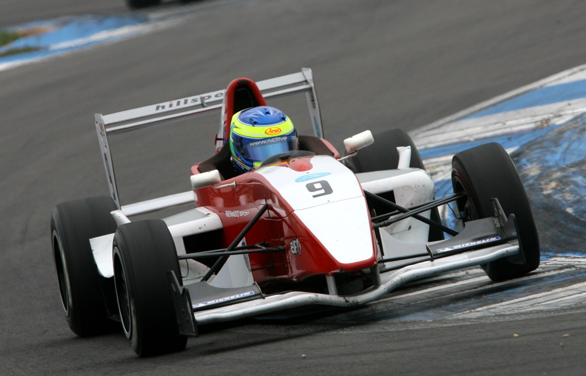 Formula Renault UK: Dubai resident Zaamin Jaffer makes strong start at Donington Park