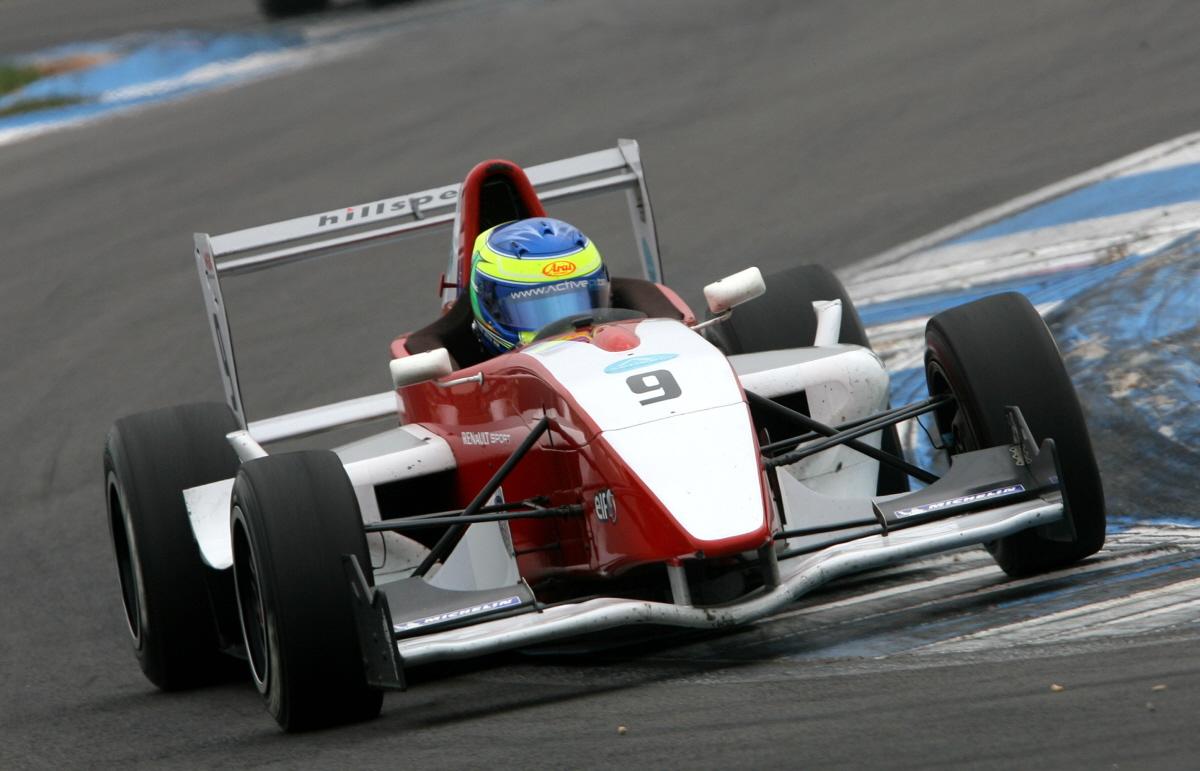 Formula Renault UK: Dubai resident Zaamin Jaffer makes strong start at Donington Park