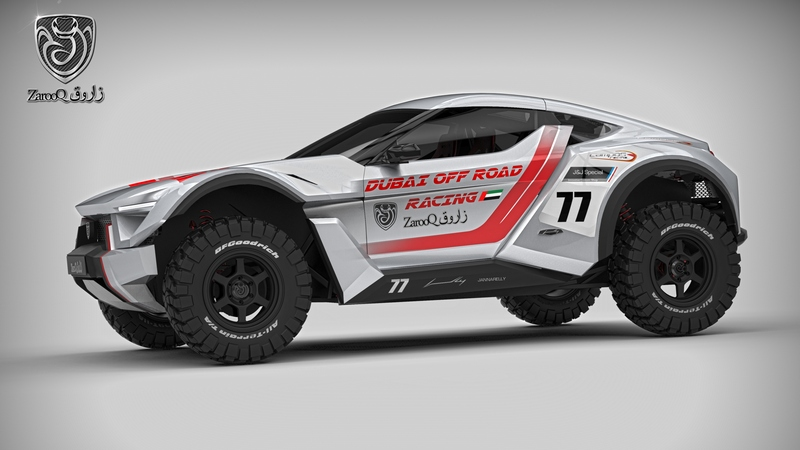 UAE: Zarooq Motors unveil details on the new V6 SandRacer to be built in UAE