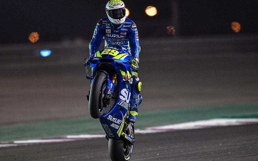 MotoGP: Iannone lights up the desert on Day 2 test in Qatar