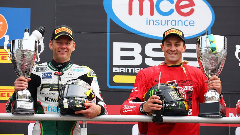 BSB: Brookes celebrates first British Superbike title after Brands Hatch dogfight with Byrne