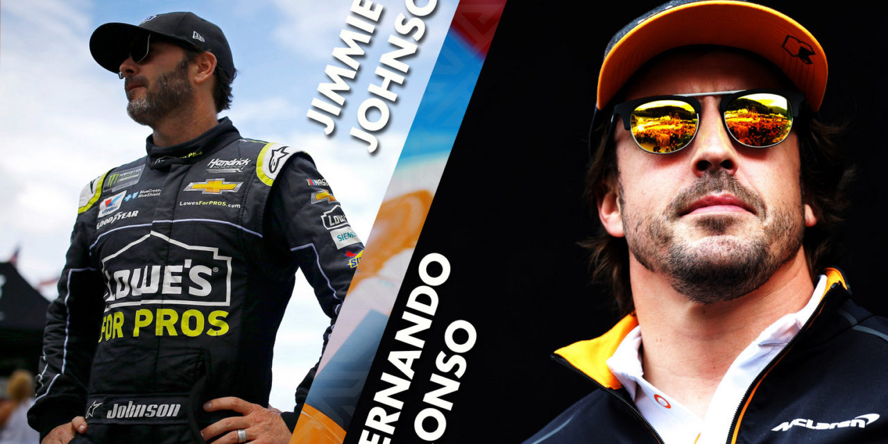 Bahrain: Fernando Alonso and Jimmie Johnson set for historic NASCAR/F1 mashup car-swap at BIC
