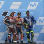 MotoGP: Marquez vs Dovizioso vs Iannone MotorLand delivers a close three-factory fight
