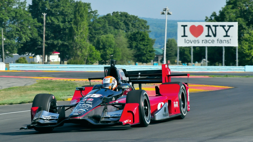 IndyCar: Jones enjoys second IndyCar run with Rahal Letterman Lanigan Racing at Watkins Glen