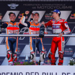 MotoGP: Repsol Honda rider makes history once again – with a first podium for Lorenzo at Ducati