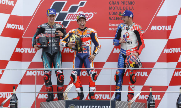 MotoGP: Marquez makes it the triple crown for Honda, Quartararo and Miller join the podium in Valencia