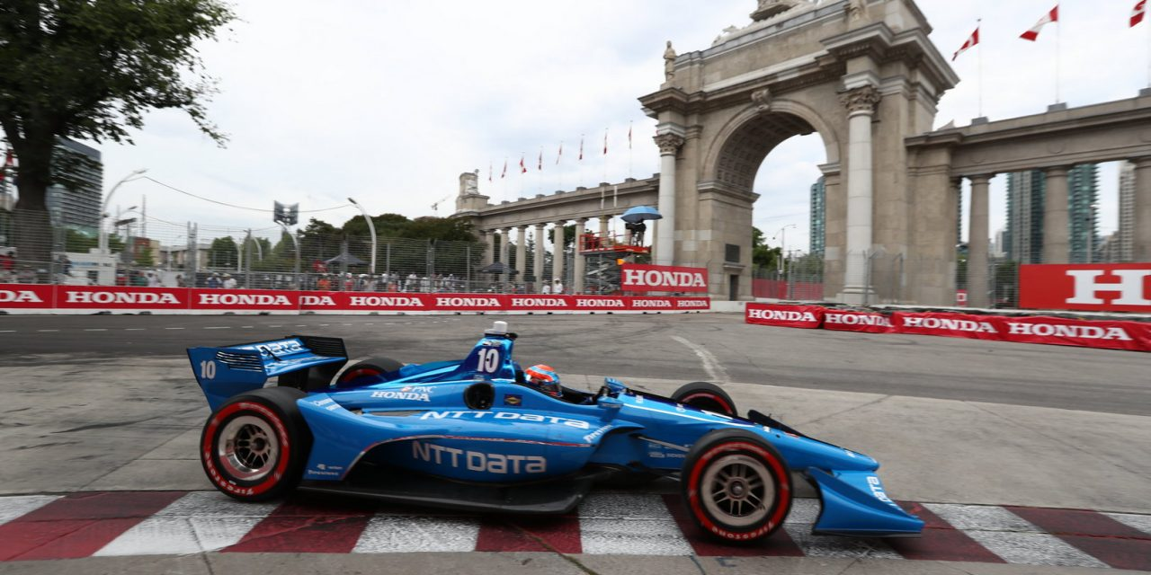 IndyCar: Jones fights through the field for valuable points on challenging Canadianweekend