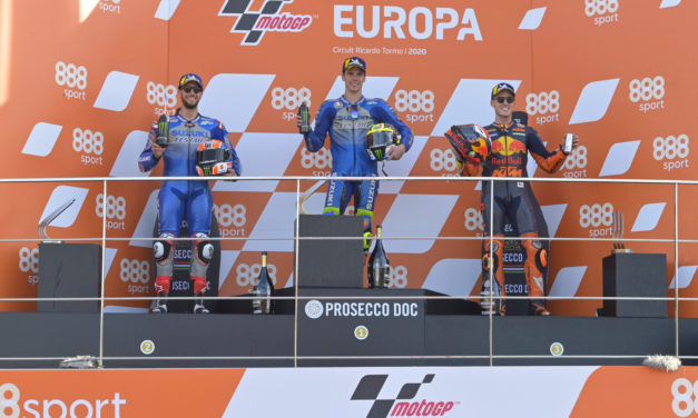 MotoGP: Mir and Rins give first Suzuki 1-2 finish since 1982