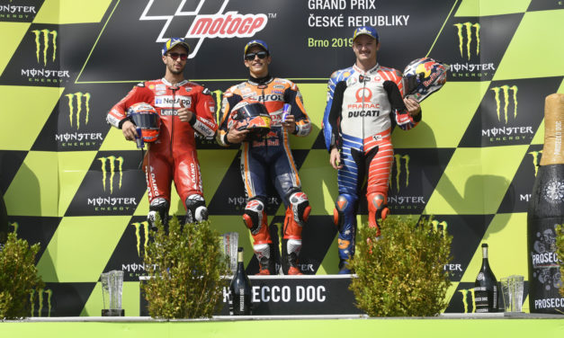 MotoGP: Marquez hits a half century of premier class wins with victory at Brno