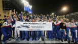 WEC: Toyota celebrate double victory as drivers Davidson and Buemi are crowned World Champions