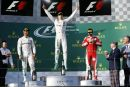 F1: Rosberg wins first race of season as Alonso escapes spectacular crash at Australian Grand Prix