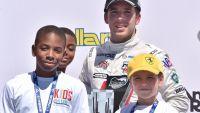 IndyLights: Dubai star Ed Jones on the podium in Phoenix
