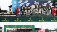 LMP1: Hearbreak for Toyota Gazoo Racing at Le Mans as leading car #5 stops at the finish line