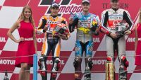 MotoGP: Australian Jack Miller rides on water for miraculous first win in soggy two part Assen GP